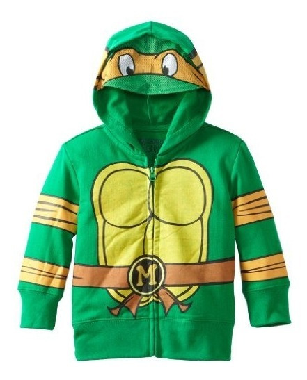 Sudadera Con Capucha Teendress Mutant Ninja Turtles De Nicke