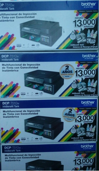 Impresora Multifuncional Brother T510w