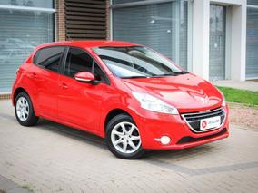 Peugeot 208 Active Pack 1.6 Automatico 2015 Vermelha Flex