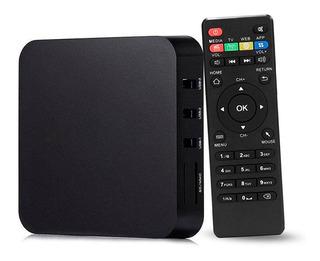Convertidor Smart Tv Wifi Android C/remoto Netflix Gtia