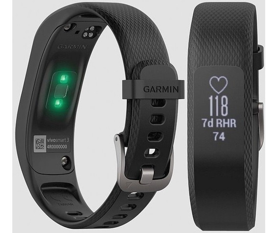 Relógio Pulseira Inteligente Garmin Vivosmart 3 Mon Cardiaco