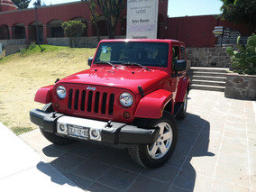 Jeep Wrangler Sahara 4x4 At 2012, Único Dueño, Muy Pocos Kms