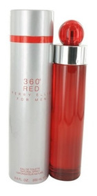 Perfume 360 Graus Red For Men 200ml Perry Ellis Original