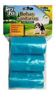Bolsas Plásticas Para Desechos Perro 60 Pz