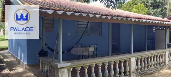 Chácara Com 3 Dormitórios À Venda, 890 M² Por R$ 260.000 - Iaa - Piracicaba/sp - Ch0002
