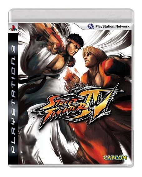 Street Fighter 4 - Ps3 - Usado - Original - Mídia Física