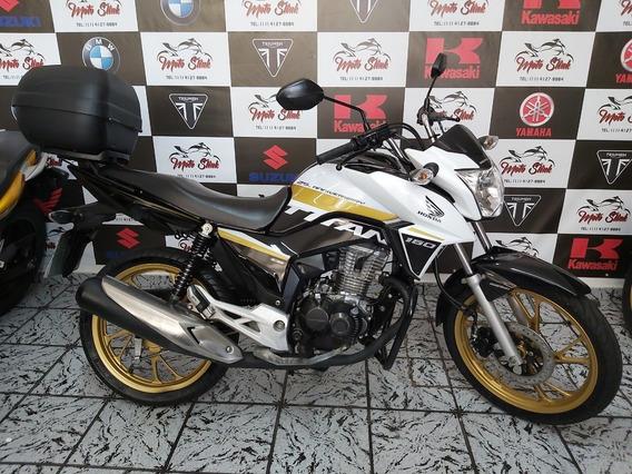 Honda Cg 160 Titan Ex 2018 Moto Slink