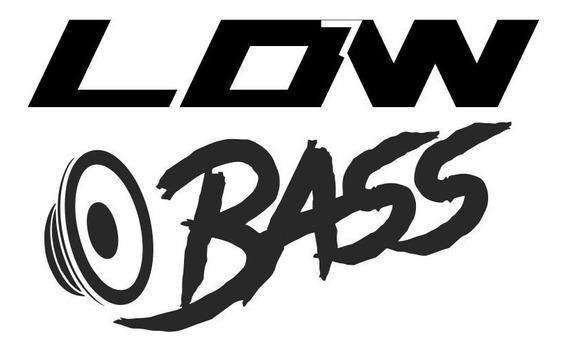 Adesivo Low Bass, Carro Rebaixado, Tuning, Som