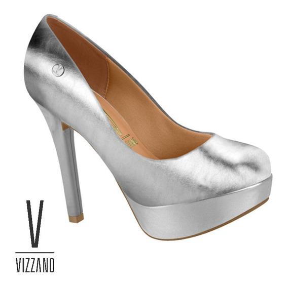 Stiletto Clasico Vizzano Mujer Moda Taco 12.5 Cm 1830-501