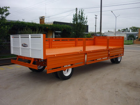 Acoplado Playo Carga 6 X 2.10 Carro Trailer Financiado