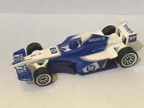 Miniatura 1/64 Hot Wheels F1 Bmw Williams Fw25 2003 Montoya