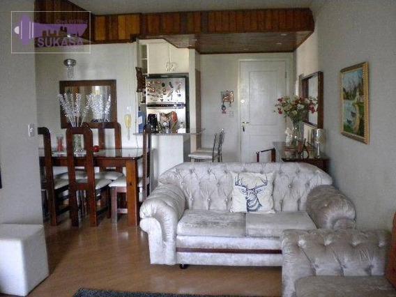 Apartamento Com 1 Dormitório À Venda, 58 M² Por R$ 410.000 - Jardim - Santo André/sp - Ap0332
