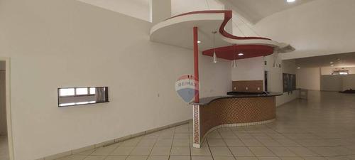 Salão Para Alugar, 780 M² Por R$ 12.000,00/mês - Lopes Iglesias - Nova Odessa/sp - Sl0098