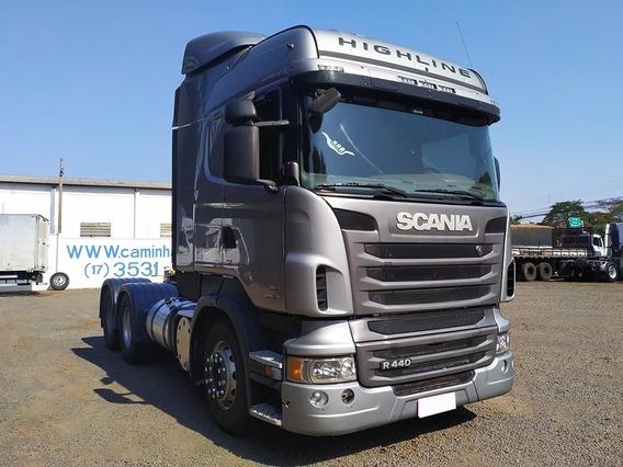Scania R 440 A 6x4 2013 Aut. Leito Teto Alto Sb Veiculos