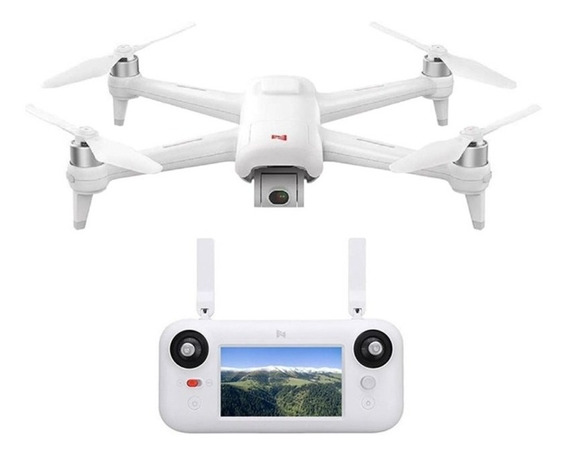 Drone Xiaomi Mi Fimi A3 Fpv Com Gimbal De 2 Eixos Branco