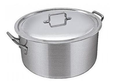 Cacerola Aluminio N° 45 Gastronómica Capacidad 35 Lts.