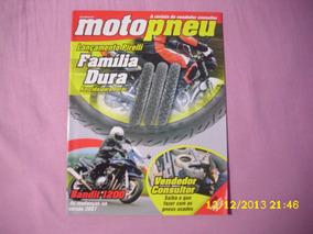 Revista Moto Pneu N° 14 - Lançamento Pirelli - Família Dura