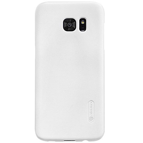 Imagen 1 de 7 de Carcasa Nillkin Frosted Shield Samsung S7 Edge, Blanco