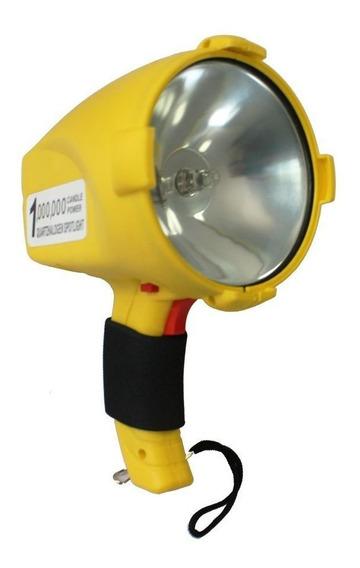 Lanterna Plástica Csr Recarregável Bulbo H3 1.000.000 Velas
