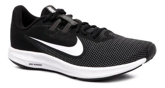 Tênis Nike Downshifter 9 Preto E Branco Masculino
