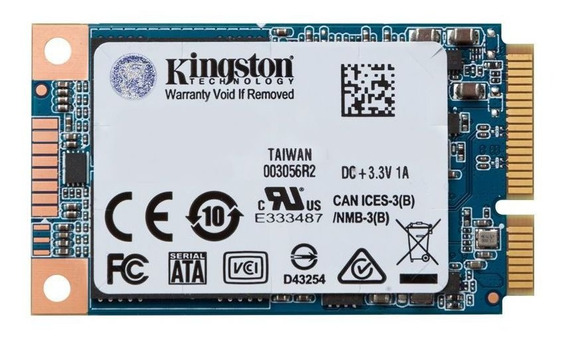 Ssd Msata Desktop Notebook Kingston Uv500 480gb Sata Iii