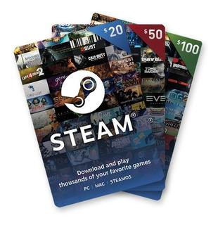 Tarjeta Regalo Steam 100 Pesos