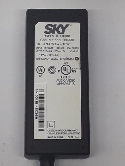 Fonte Sky 12a 1.5a Modelo 603301