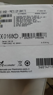 Smartphone Moto Z 64gb Xt1650-03