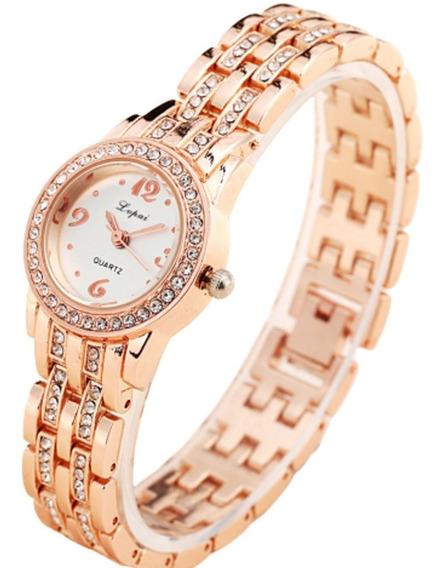 Relógio Feminino De Pulso Brilhante Barato Promoção Bonito