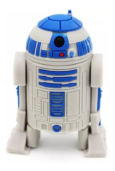 Pendrive 32 Gb Star Wars R2-d2 Robo Androide.