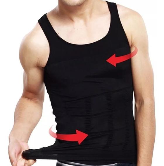 Camiseta Faja Termica Reductora Hombre Adelgazagocy 50527