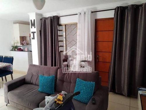 Casa Com 3 Dormitórios À Venda, 93 M² Por R$ 350.000 - Sumarezinho - Ribeirão Preto/sp - Ca1666