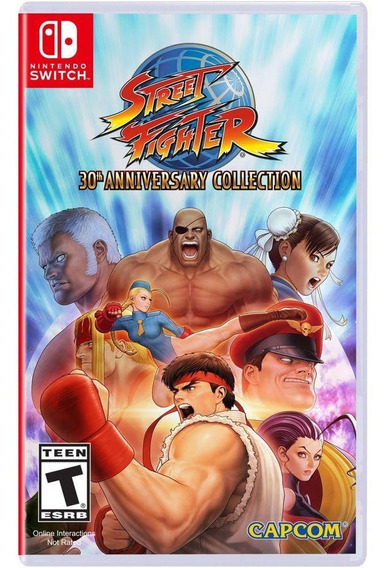 Street Fighter 30th Anniversary Collection Novo Switch