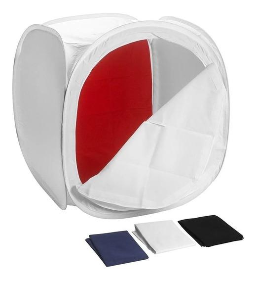 Tenda Fotográfica 60cm Estúdio Grande P/ Produtos Ecommerce