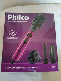 Escova Modeladora + Secador Philco