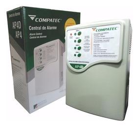 Central De Alarme Ap4d Compatec