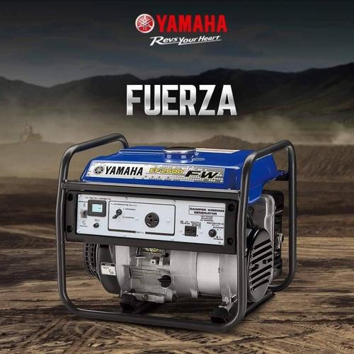 Grupo Electrogeno Yamaha Original  Ef260fw. Agencia Oficial.