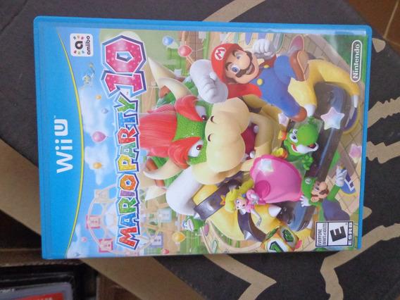 Mario Party 10 Wii U Wiiu Original - Dvdsdf1