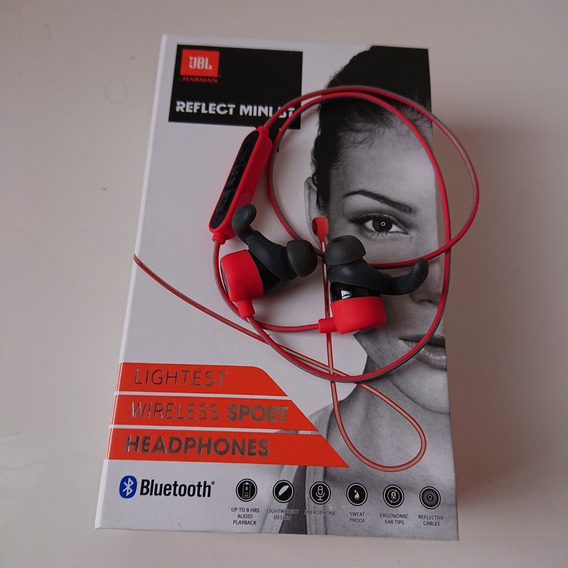 Fone De Ouvido Bluetooth Jbl Original Sport Reflect Mini Bt