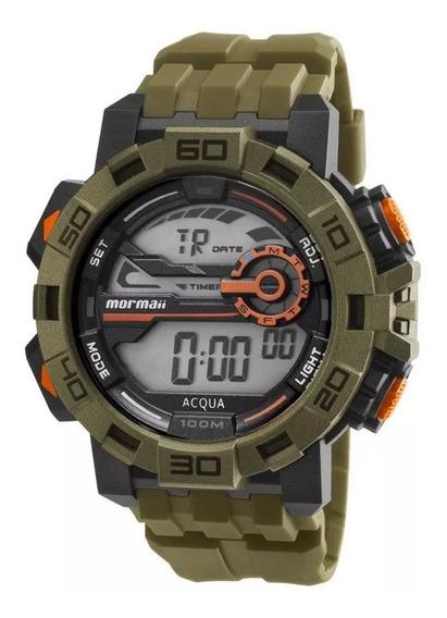Relógio Mormaii Masculino Mo1148ac/8m Ponta De Estoque