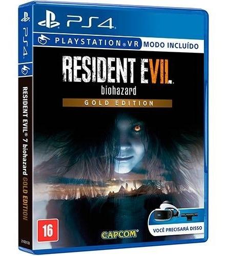 Resident Evil 7 Biohazard Gold Ps4 Midia Fisica Novo Pt Br