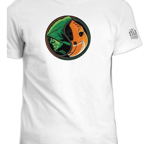 Camisetas Flecha Verde Green Arrow Dc Superheroes Ink 2
