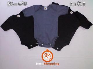Bodys De Bebé Unicolor (llanos) - $3.5 C/u