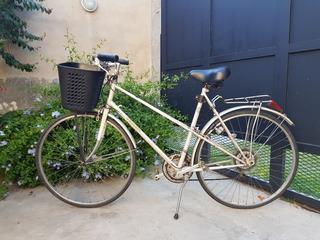 Bicicleta Peugeot Original Dama Rodado 28 De Colección