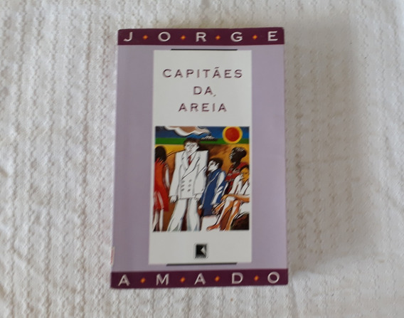 Livro Capitães Da Areia Jorge Amado Cod 3245