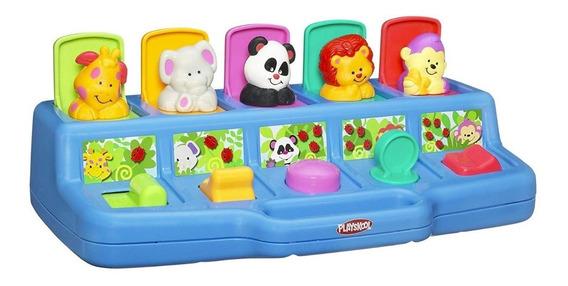 Playskool Poppin Pals Pop-up Activity Toy Para Bebés Y Niños