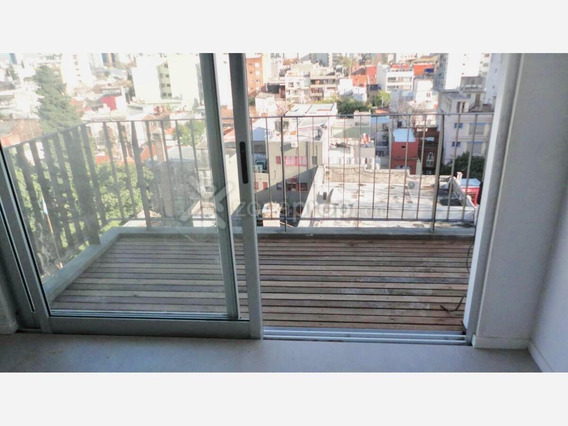 Alquiler Monoambiente 47 M2 C/balcón - Súper Luminoso Vista Contrafrente