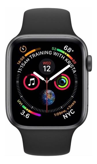 Relógio Apple Watch Série 5 44 Mm Preto Novo