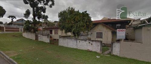 Imagem 1 de 20 de Terreno No Guaíra Em Curitiba. - Te0086