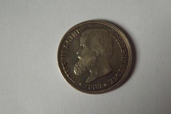Prata- 1000 Reis 1876 Linda E Rara